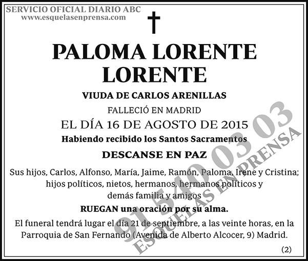 Paloma Lorente Lorente
